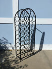 ARTHUR UMANOFF WROUGHT IRON 39 BOTTLE WINE RACK MID CENTURY MODERN EAMES ERA