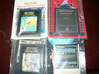 Atari 2600  lot with books zaxxon pac-man maze crazy and breakout all with book