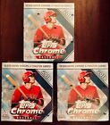 x3 2018 Topps Chrome Mega Box New Sealed 50 Cards X Fractor Exclusive