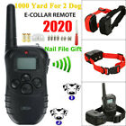 Dog Shock Collar With Remote Waterproof for Large Small 1000 Yard Pet Training