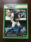 1989 Starting Lineup MIKE SCIOSCIA Card  Nr Mt - Mt+