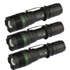 3 x 15000LM  T6 Tactical Military Outdoor Led 18650 Flashlight Torch USA