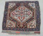 Antique Persian Shiraz Bag Face Tribal Rug Hand Knotted 2.4