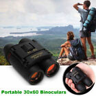 New Vision Mini Binoculars 30 x 60 126m 1000m Outdoor Travel Folding Telescope