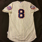 Authentic Majestic 60 4XL, NEW YORK METS GARY CARTER COOL BASE SHEA PATCH Jersey