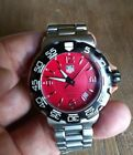 tag heuer formula 1 chronograph red