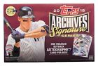 2018 Topps Archives Signature Series Active Player - Hobby Box - Factory Sealed