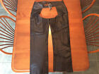 Harley Davidson DELUXE LINED Leather Chaps PRISTINE Condition Mens M 98091 06V