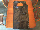Harley Davidson OUTRIDER Deluxe LINED Leather Chaps PRISTINE Condition Mens M