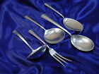 FINE ARTS PROCESSIONAL STERLING SILVER SMALL SERVER SET - EXCELLENT CONDITION