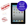 Apple iPad 4th Gen. 16GB, Wi-Fi + Cellular (Unlocked), 9.7in White Free Shipping
