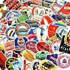 55 Retro Vintage Old Fashioned Style Luggage Suitcase Travel Stickers cute ov