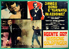 T29 Fotobusta Agente 007 Missione Goldfinger James Bond Sean Connery Eaton 1