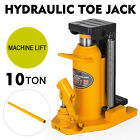 10 Ton Hydraulic Toe Jack Machine Lift Cylinder Proprietary Tool Machinery