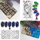 DIY Nail Art Stamp Stamping Plates Manicure Template Nail Stamping Plates