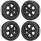20 CHEVROLET TRAVERSE BLACK WHEELS RIMS TIRES FACTORY OEM SET 5406