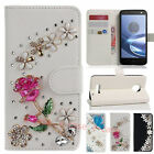 Luxuxy Card Wallte Stand CASE Diamond Crystal PU Leather For Galaxy Note9/iPhone