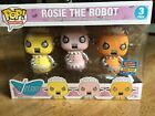 Funko POP! The Jetsons ROSIE THE ROBOT 3 PACK SDCC 2017 Exclusive 2000 pieces