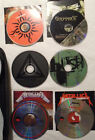 LOT CDs 40 Heavy Metal Grunge zippered case Metallica POD Thrill Seeker Soilwork