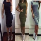 2018 Hot Sales Dresses cheap clothes china Free Shiping Fashion Women Sexy Solid
