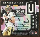 2018 Panini Unparalleled Football Factory Sealed Hobby Box NEW