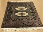 Authentic Hand Knotted Jaldar Pak Jhaldar Wool Area Rug 2 x 2 FT (4913)