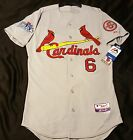 Authentic MAJESTIC SIZE 52 2XL, ST LOUIS CARDINALS STAN MUSIAL Cool Base Jersey