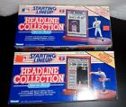 Kenner Starting Lineup MLB Headline Collection Jose Canseco & Nolan Ryan Figures