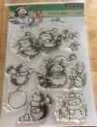 Penny Black Clear Set Stamps-Winter Play-New