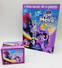 PANINI ALBUM + BOX 50 Packs MY LITTLE PONY THE MOVIE packets figurines Stickers