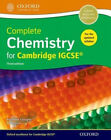 Complete Chemistry for Cambride Igcserg Student Book by Rosemarie Gallagher.