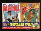 1996 TOPPS BASEBALL COMPLETE SERIES 1-2 FACTORY SEALED CEREAL BOX 440 CARD SET