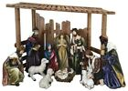 56 in Large Outdoor Nativity Set Creche 12 Piece Christmas Yard Decoration