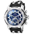 Invicta Bolt Chronograph Silver-Tone Men's Watch Resistance Stainless Steel
