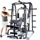 Marcy SM4000 Deluxe Smith Machine Home Multi Gym  Weight Bench