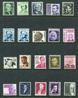 L923 US PROMINENT AMERICANS SERIES 20 STAMPS SCOTT NUMBERS IN DESCRIPTION MN