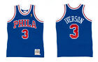 NEW AUTHENTIC Mitchell & Ness Iverson 76ers Rookie NBA Jersey 1996-97 Large 44 L