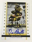 2012 Leaf Devin Fuller US Army All-American Bowl Big Hitters Auto Card 7 10 FRA3