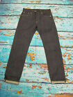 Levis Vintage LVC 1966 501 Jeans Rigid Raw Denim Red Line Selvedge 38W 34L