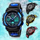 SKMEI Waterproof Kids Boy's Child Sport Stopwatch Alarm LED Digital Wrist Watch