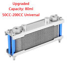 Universal Upgrade Motorcycle Engine Oil Cooler Cooling Radiator 80nl 50CC 200CC