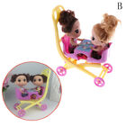 2X Kelly Doll + 1pc stroller Double Pram accessories house kid toys for BarbiF5Y