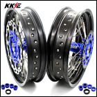 KKE 3.5/4.25 Supermoto Wheels Set HUSABERG FE FC 125 250 350 450 501 2004-2014