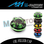 Motorcycle Engine CNC T-Axis OIL Filler Cap Fit Kawasaki Z750 Z1000 ZX-9R Ninja