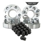 4 PC 125 5x45 to 5x55 Wheel Spacers Adapters 1 2 20 studs 20pc black lug nuts