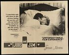 JULES ET AND JIM half sheet movie poster 22x28 FRANCOIS TRUFFAUT JEANNE MOREAU