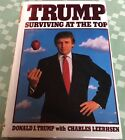 SIGNED  President DONALD TRUMP Surviving At The Top American Business biography