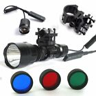 TACTICAL ML C8T6 1200 LUMEN R/G/B BEAM FLASHLIFHT AIR RIFLE HUNTING LAMP / LIGHT