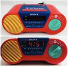 My First Sony Vintage AM FM Alarm Clock Radio ICF-C6000 Electric FREE SH