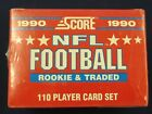 1990 Score Supplemental Update Set - Sealed - Emmitt Smith RC PSA ?